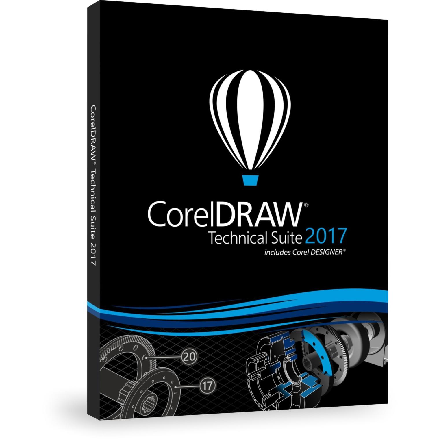 CorelDRAW Technical Suite 2017, Software