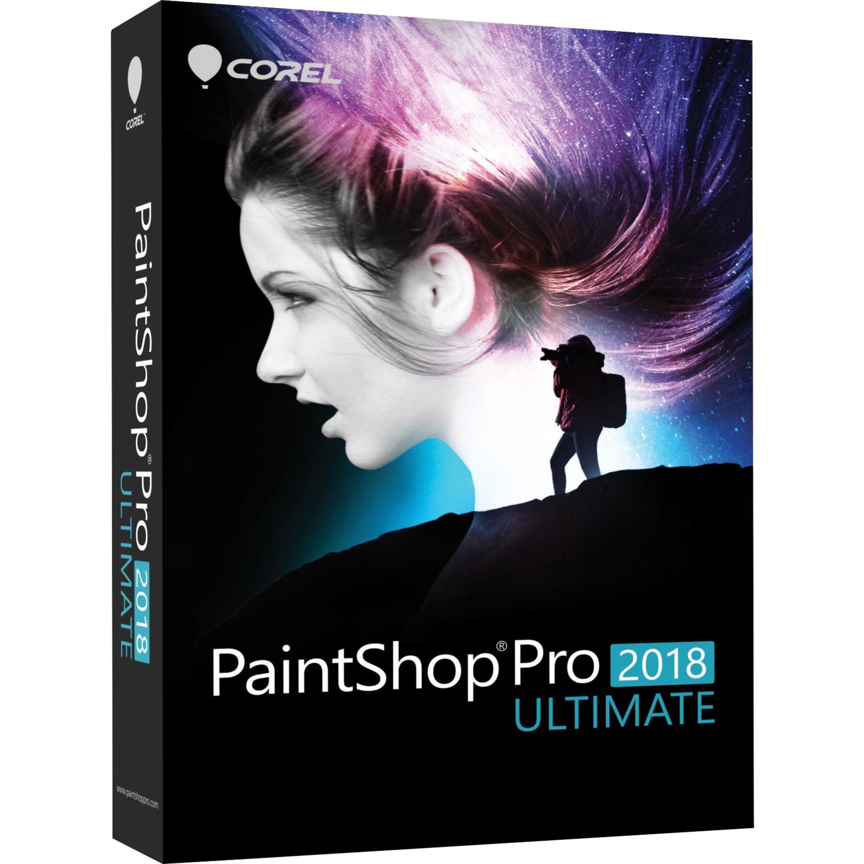 PaintShop Pro 2018 Ultimate, Software