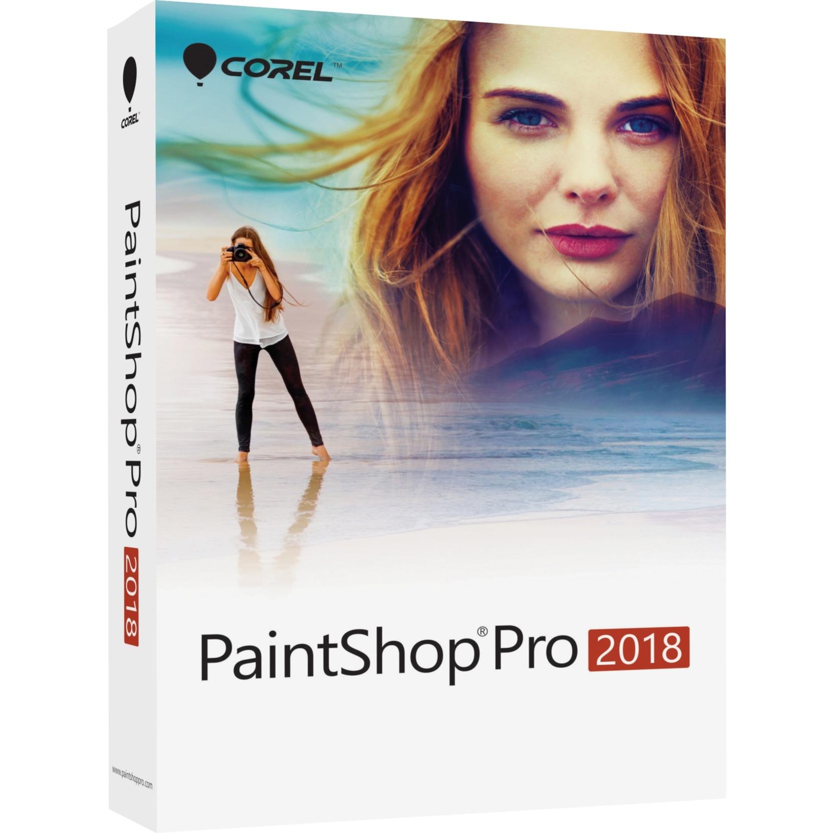 PaintShop Pro 2018, Software