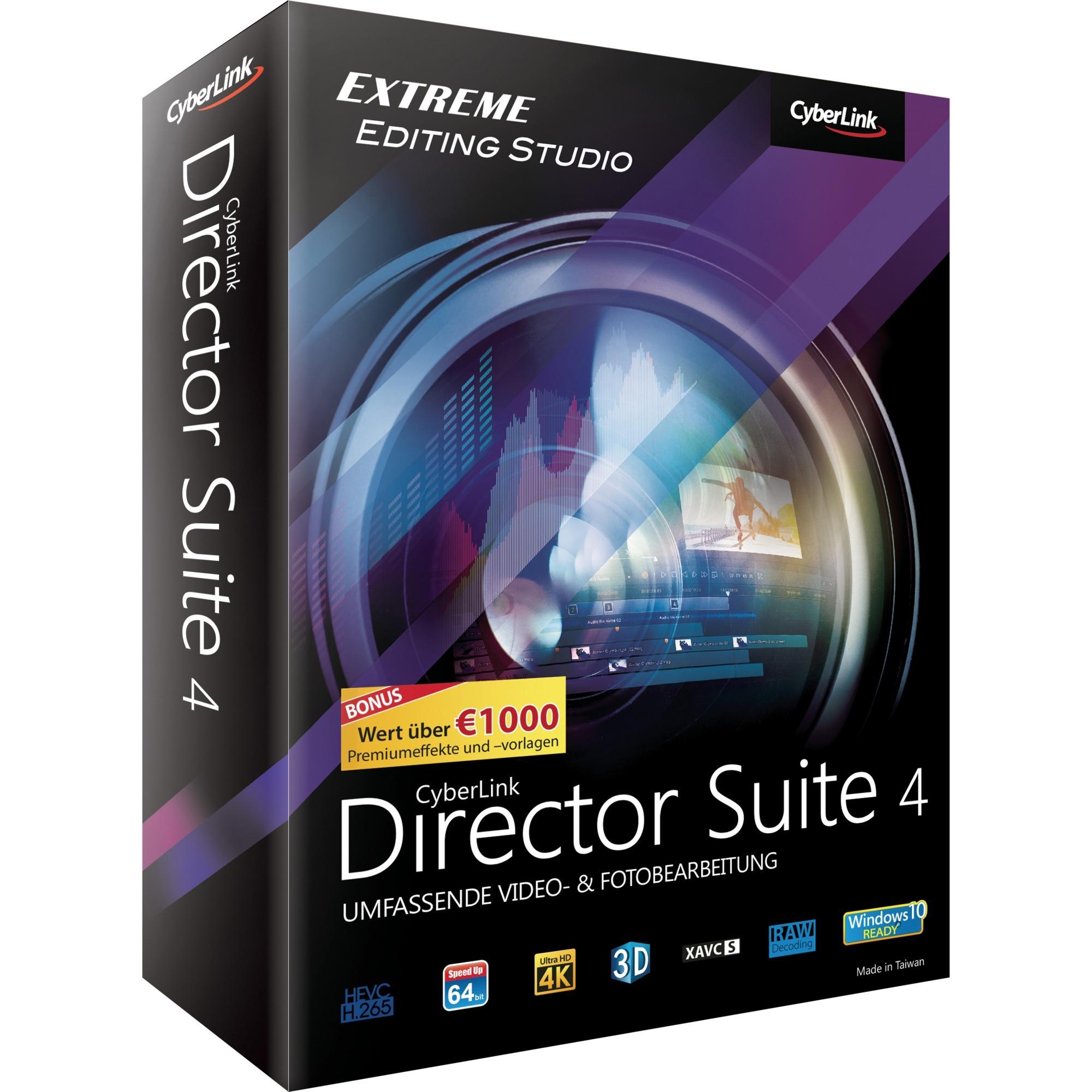 Director Suite 4, Software