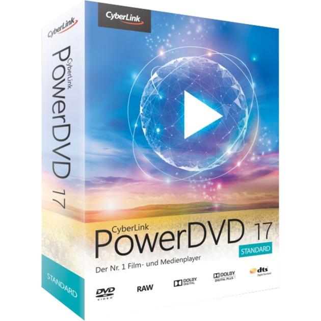 PowerDVD 17 Standard, Software