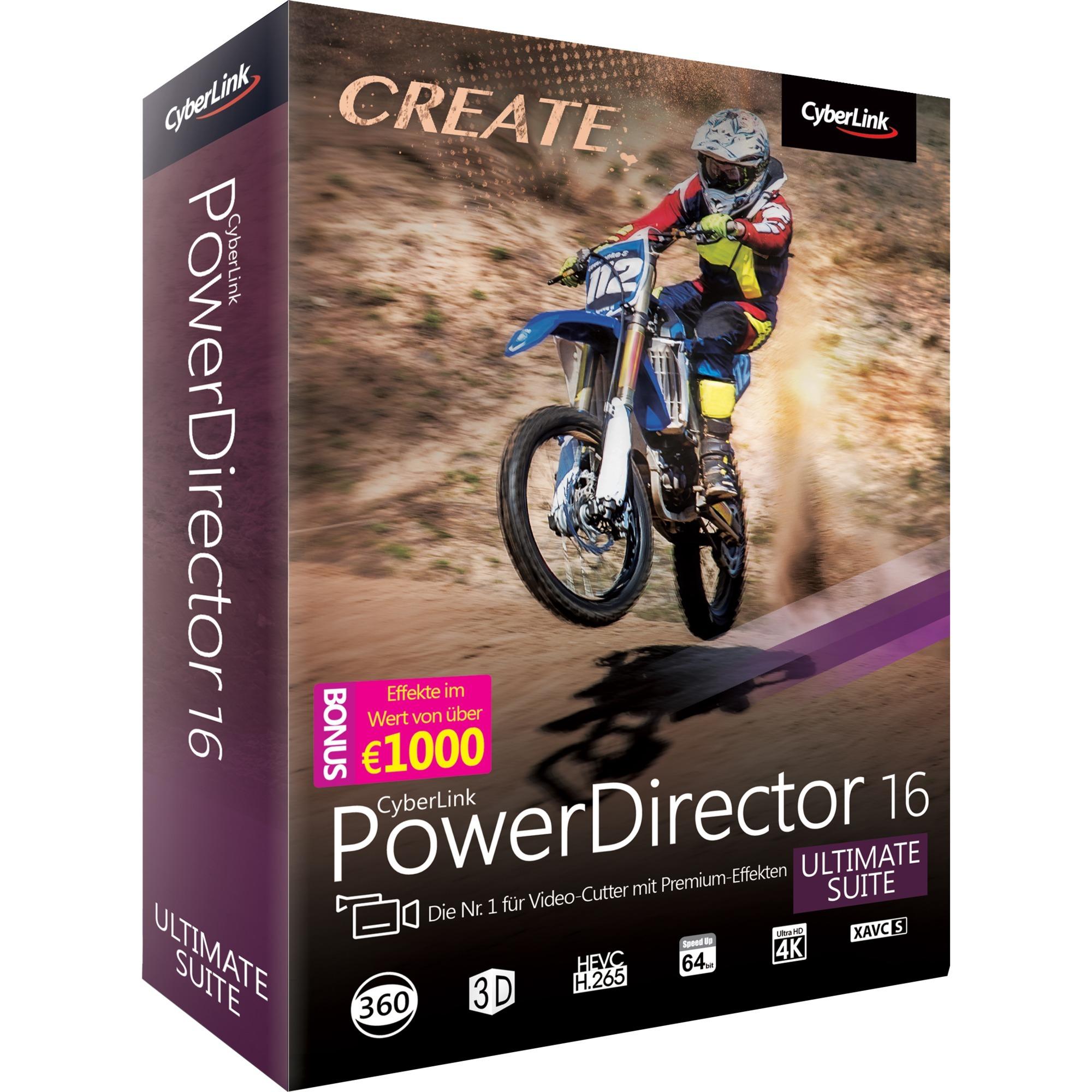 PowerDirector 16 Ultimate Suite