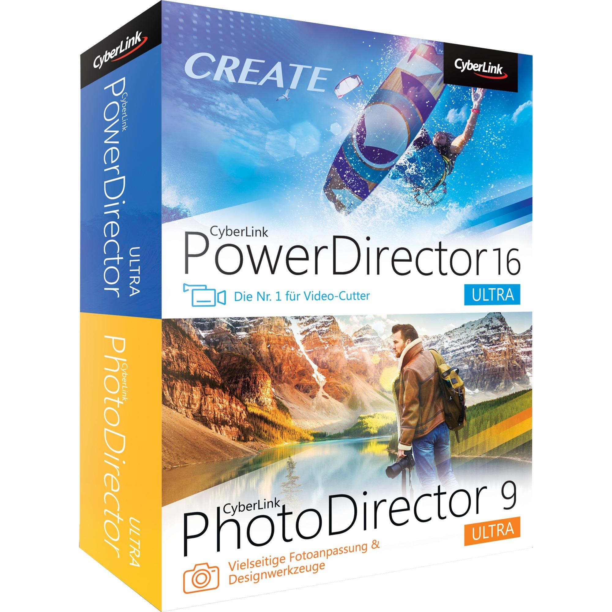 PowerDirector 16 Ultra & PhotoDirector 9 Ultra