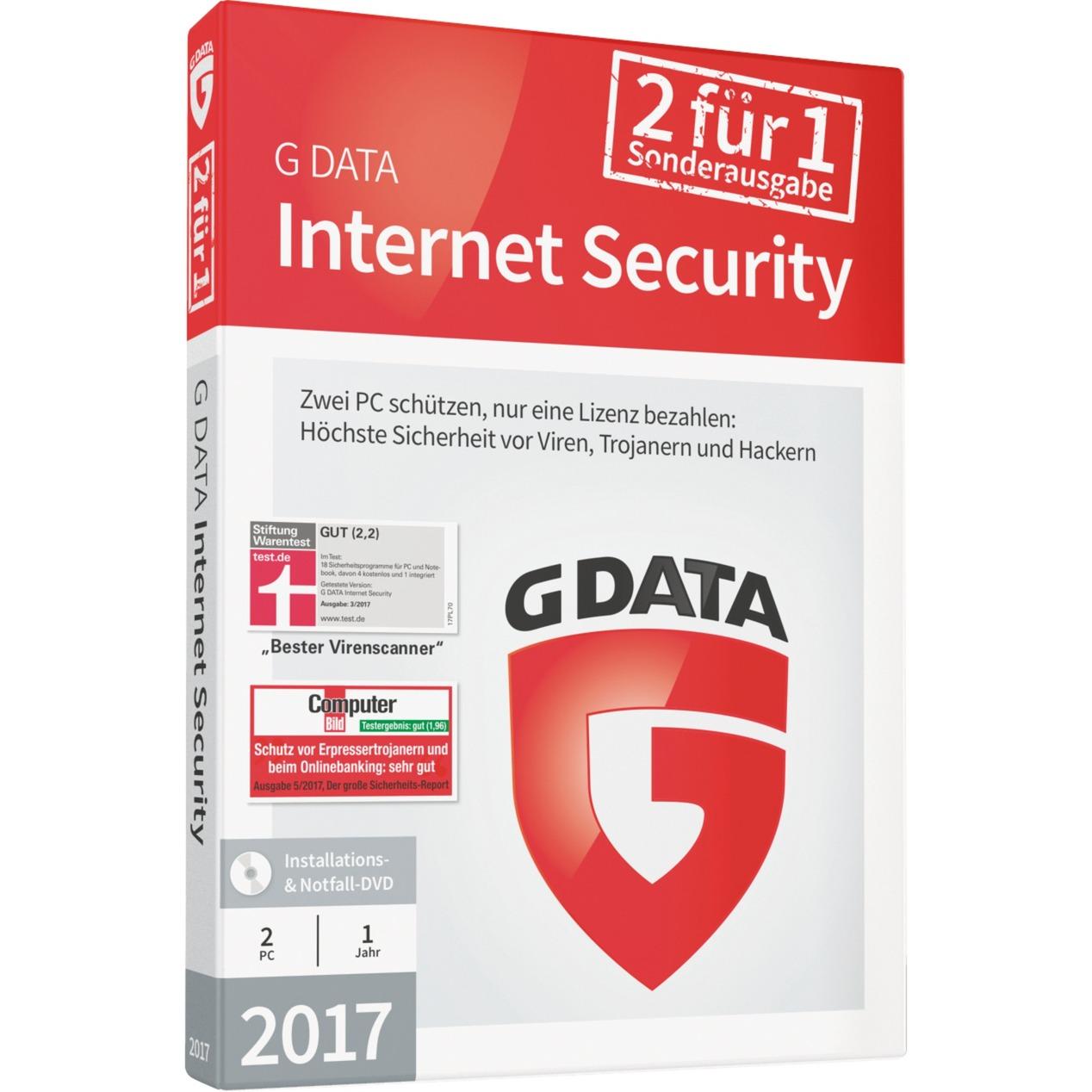 Internet Security 2017 1 año(s) Alemán, Software