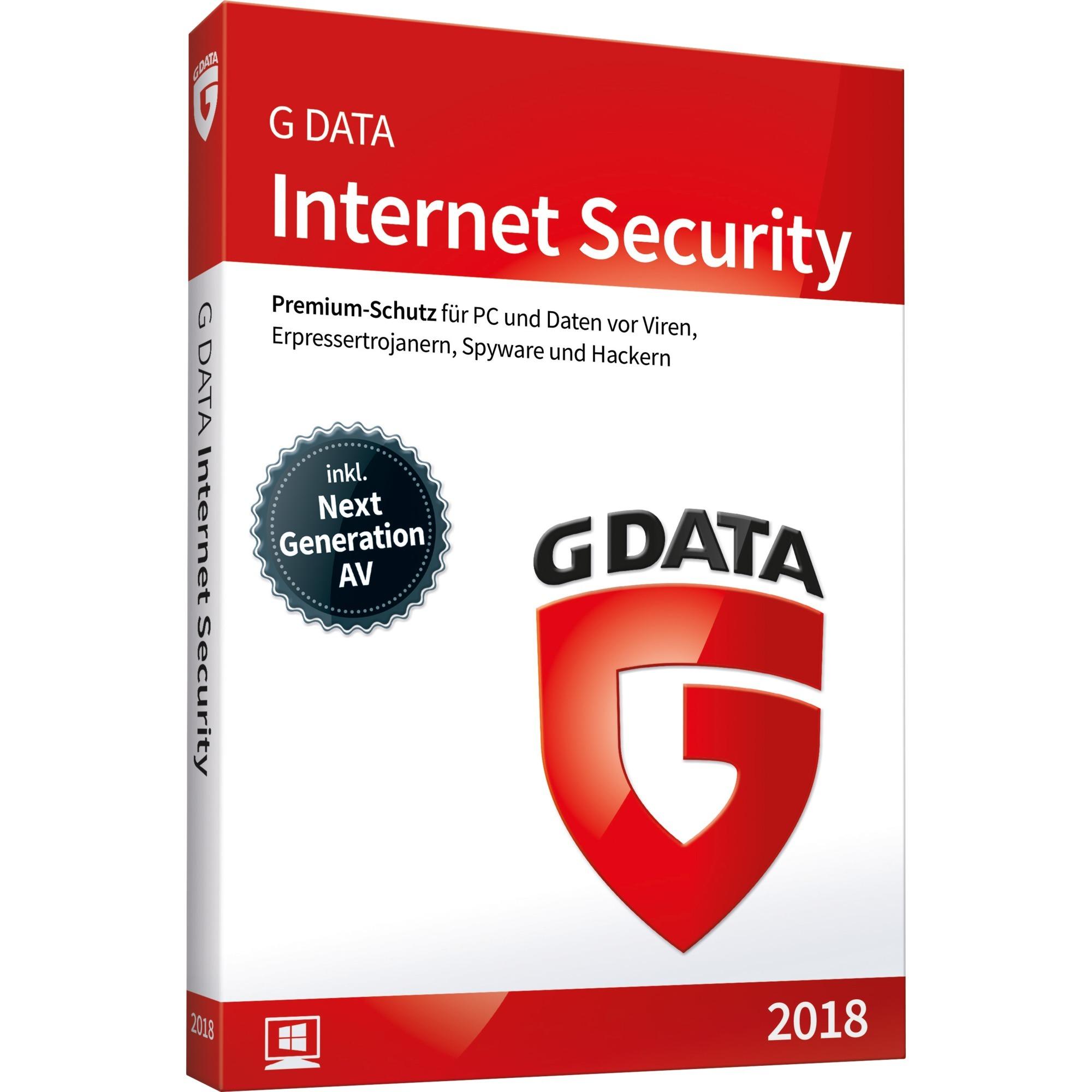 Internet Security 2018 1licencia(s) Caja Alemán, Software
