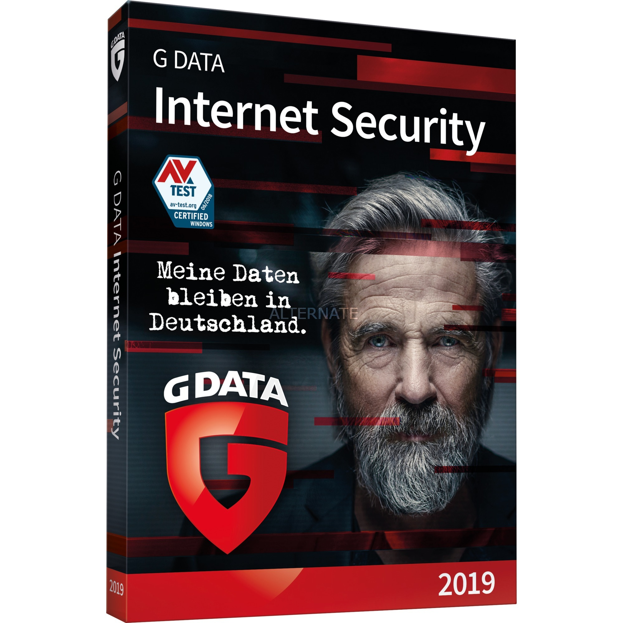 Internet Security 2019 1 año(s) Alemán, Software