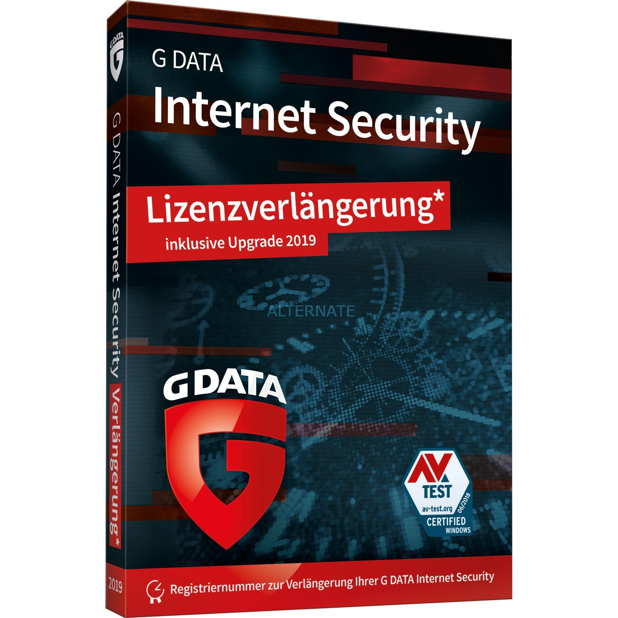 Internet Security 2019, 1 PC, 1y 1 año(s) Alemán, Software