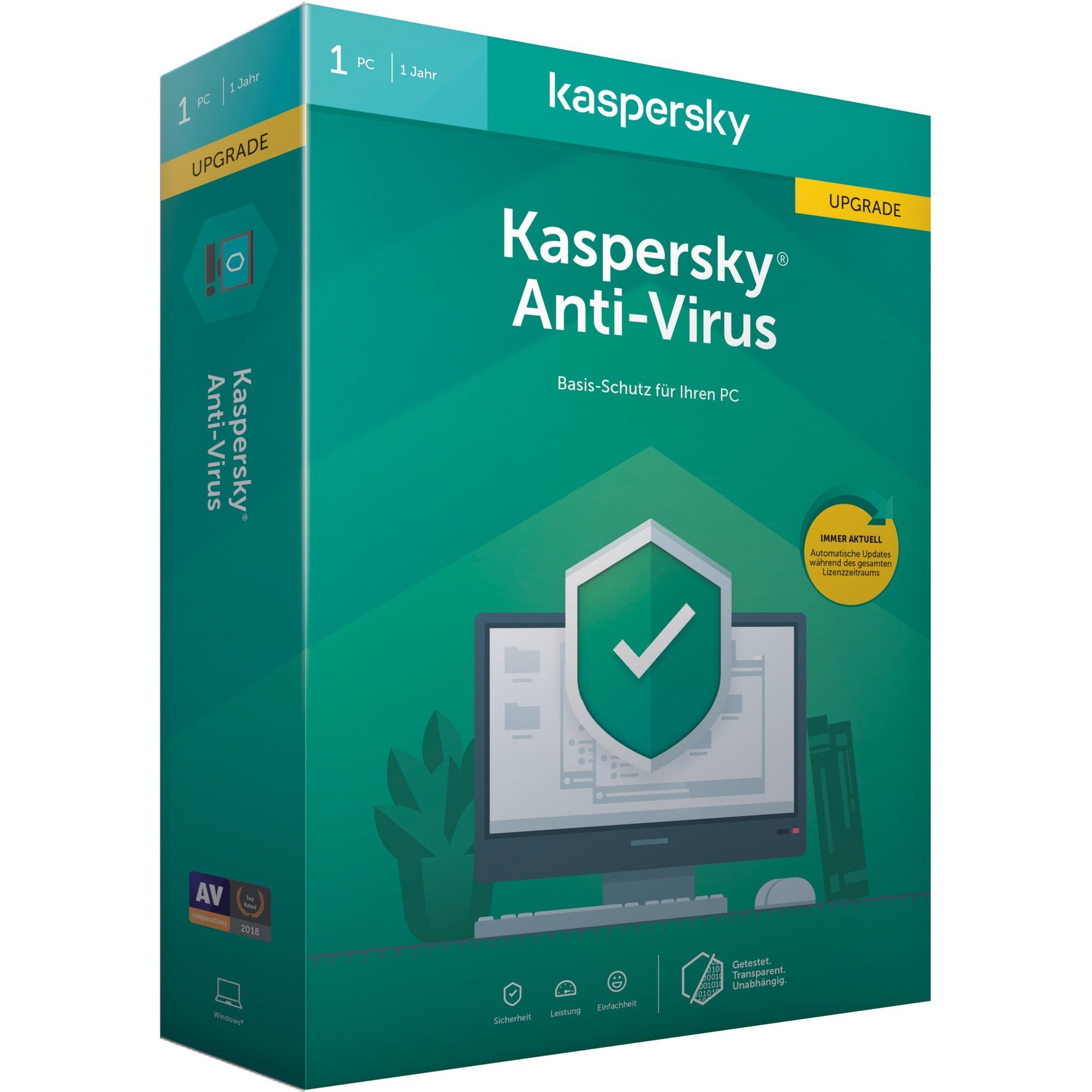 Anti-Virus 2020 Licencia básica 1 licencia(s), Software