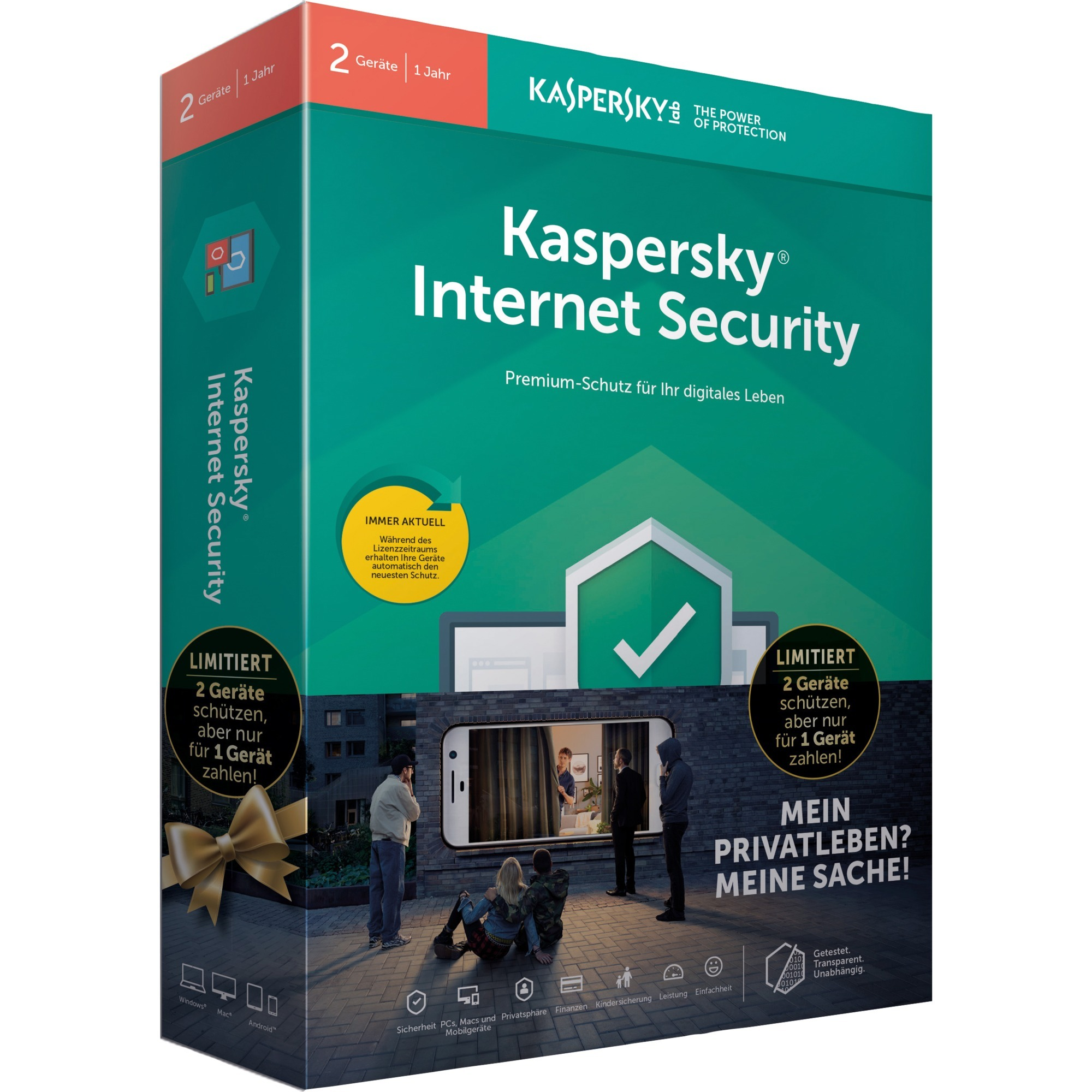 Internet Security 2019 Limited Edition Licencia completa 1 año(s) Alemán, Software