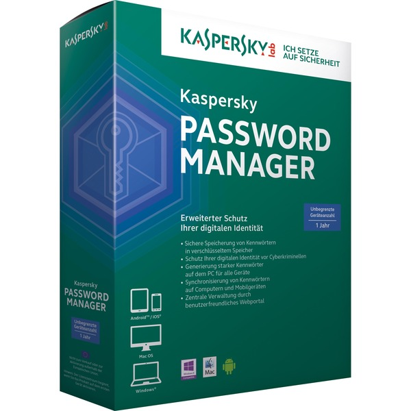 Password Manager, Software