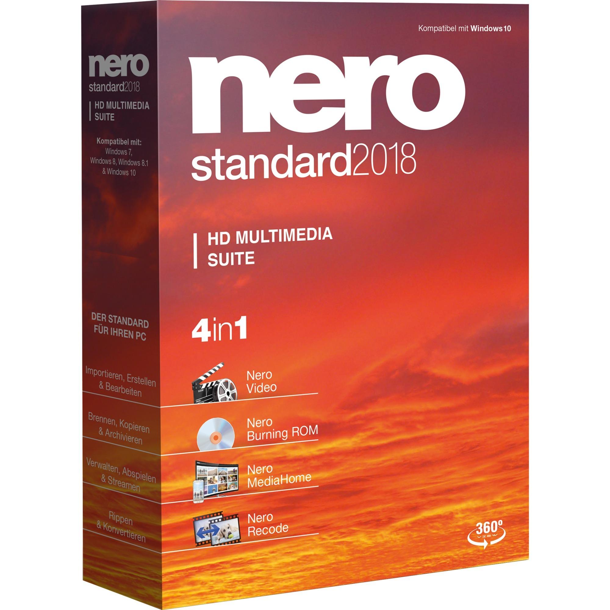 Standard 2018, Software