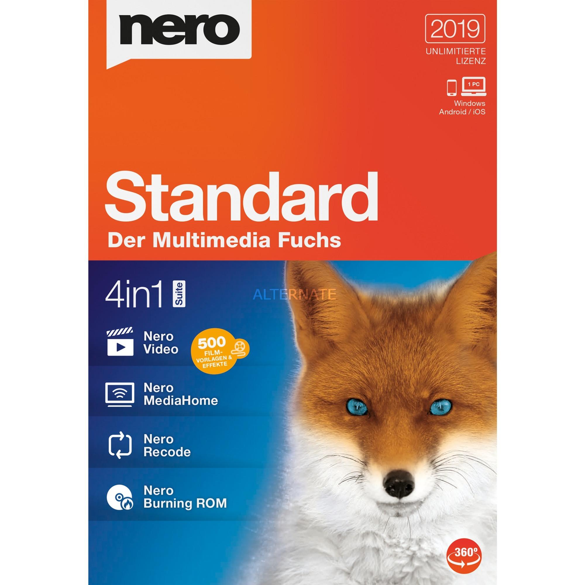 Standard 2019, Software