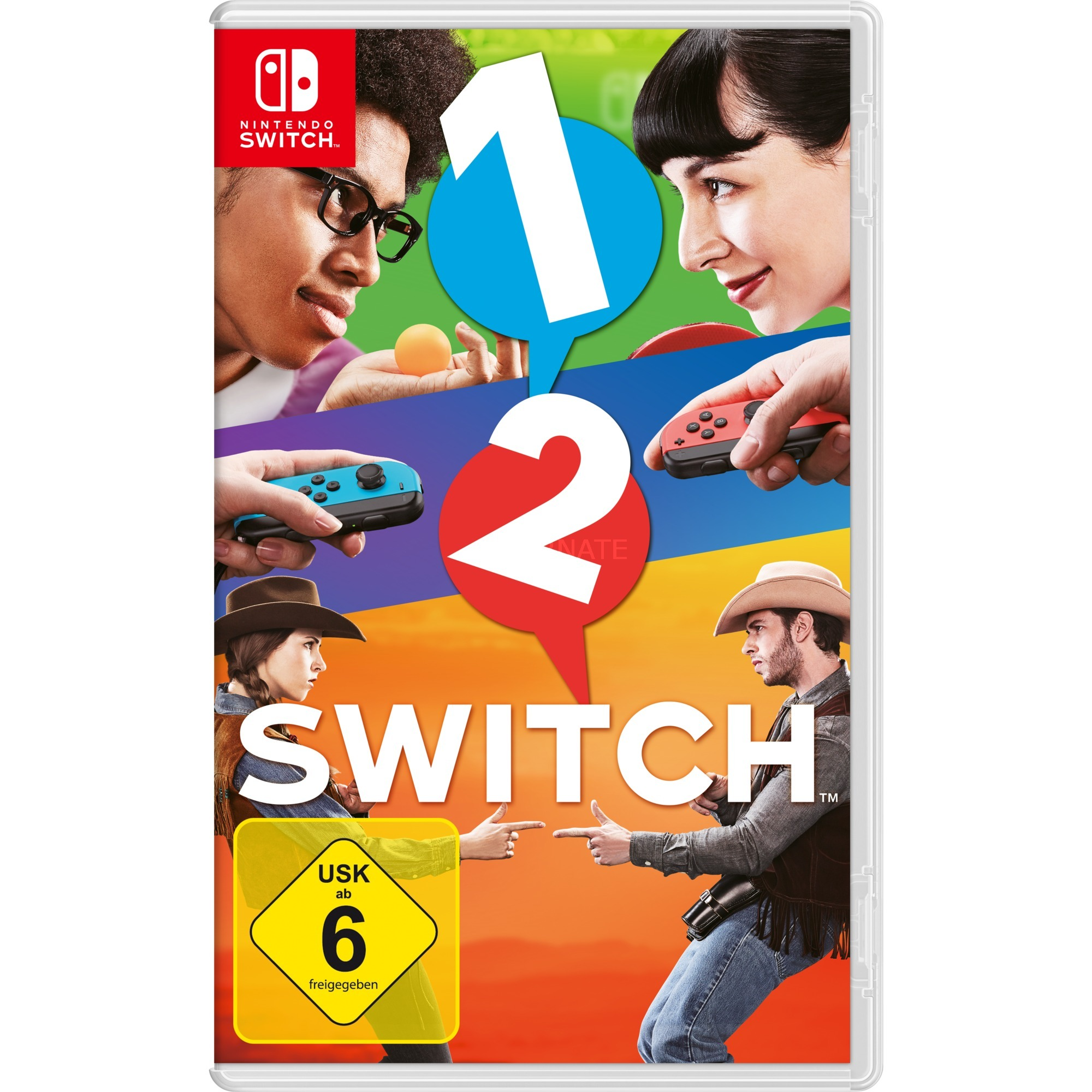 1-2-Switch, Switch vídeo juego Básico Nintendo Switch