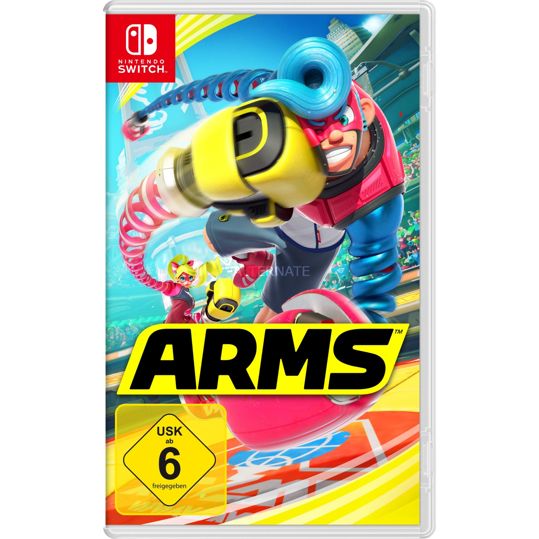Arms, Switch vídeo juego Nintendo 3DS Básico