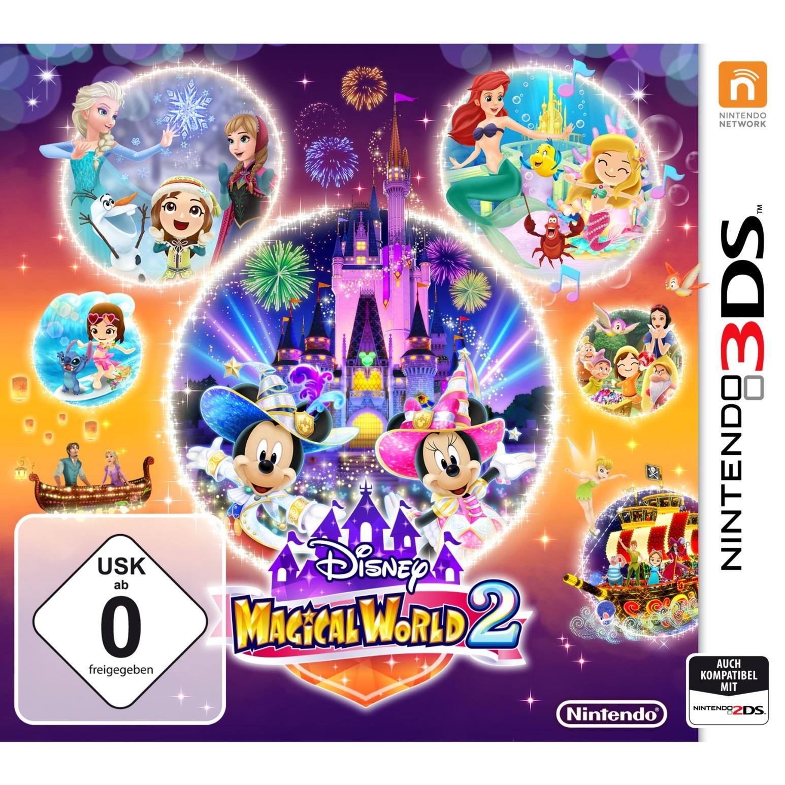 Disney Magical World 2 Básico Nintendo 3DS Alemán vídeo juego