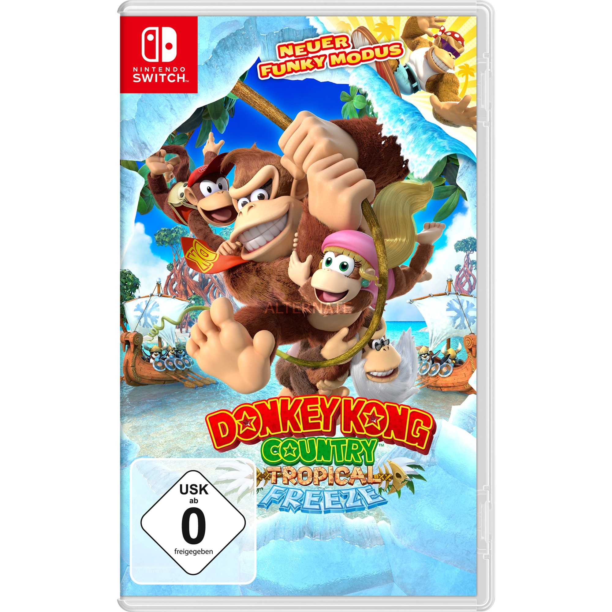 Donkey Kong Country Tropical Freeze vídeo juego Nintendo Switch Básico