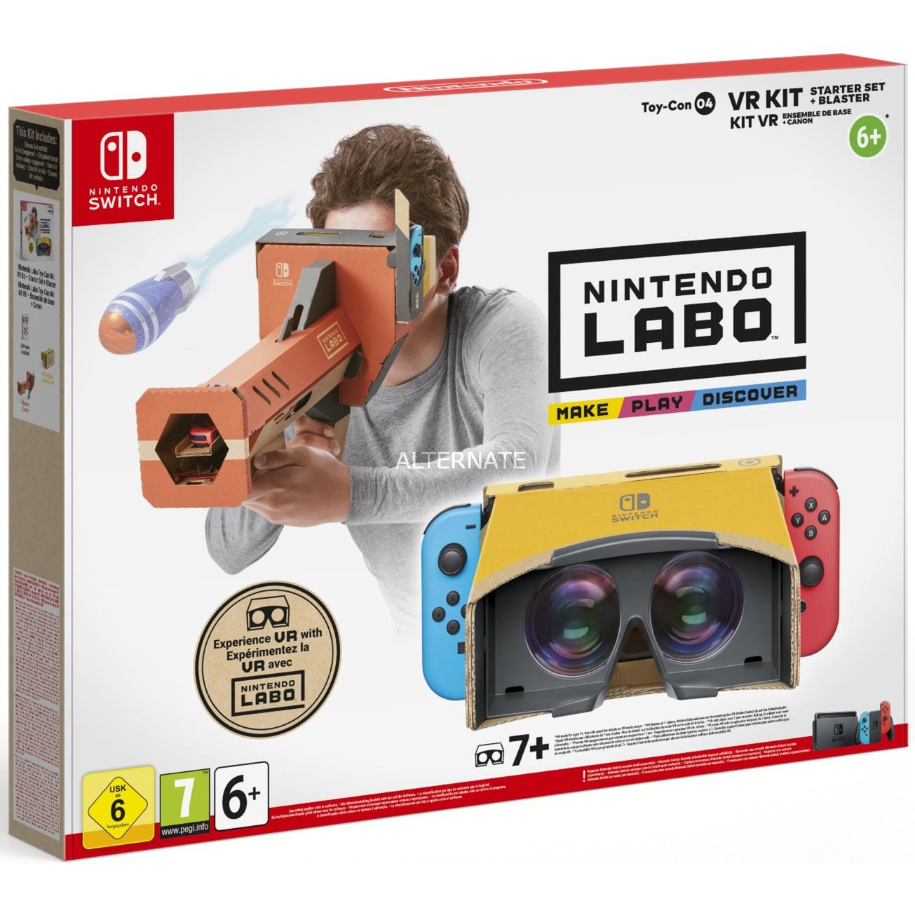 Labo: Toy-Con 04 VR-Set, Juego