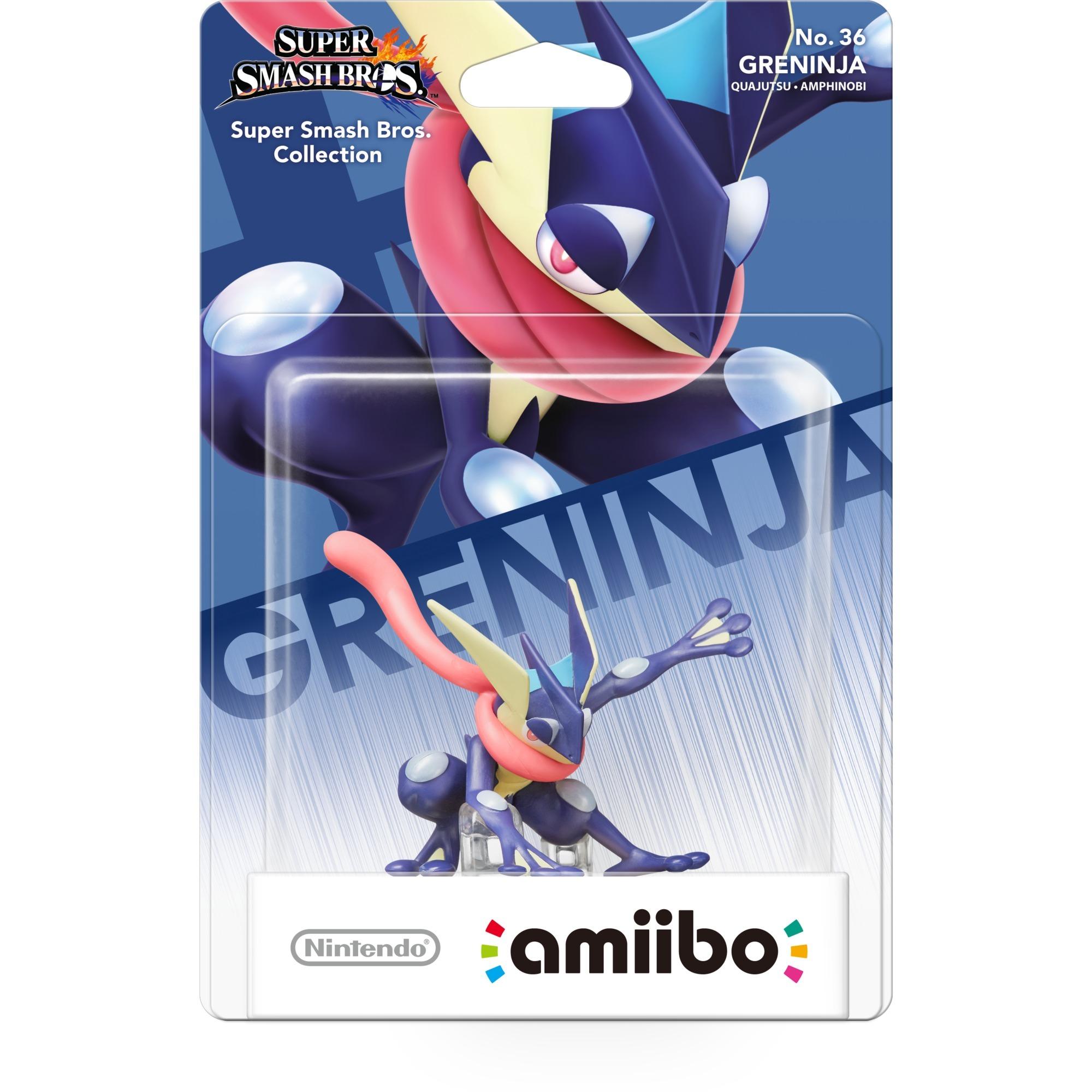 amiibo Super Smash Bros. - Greninja Figuras coleccionables, Muñecos
