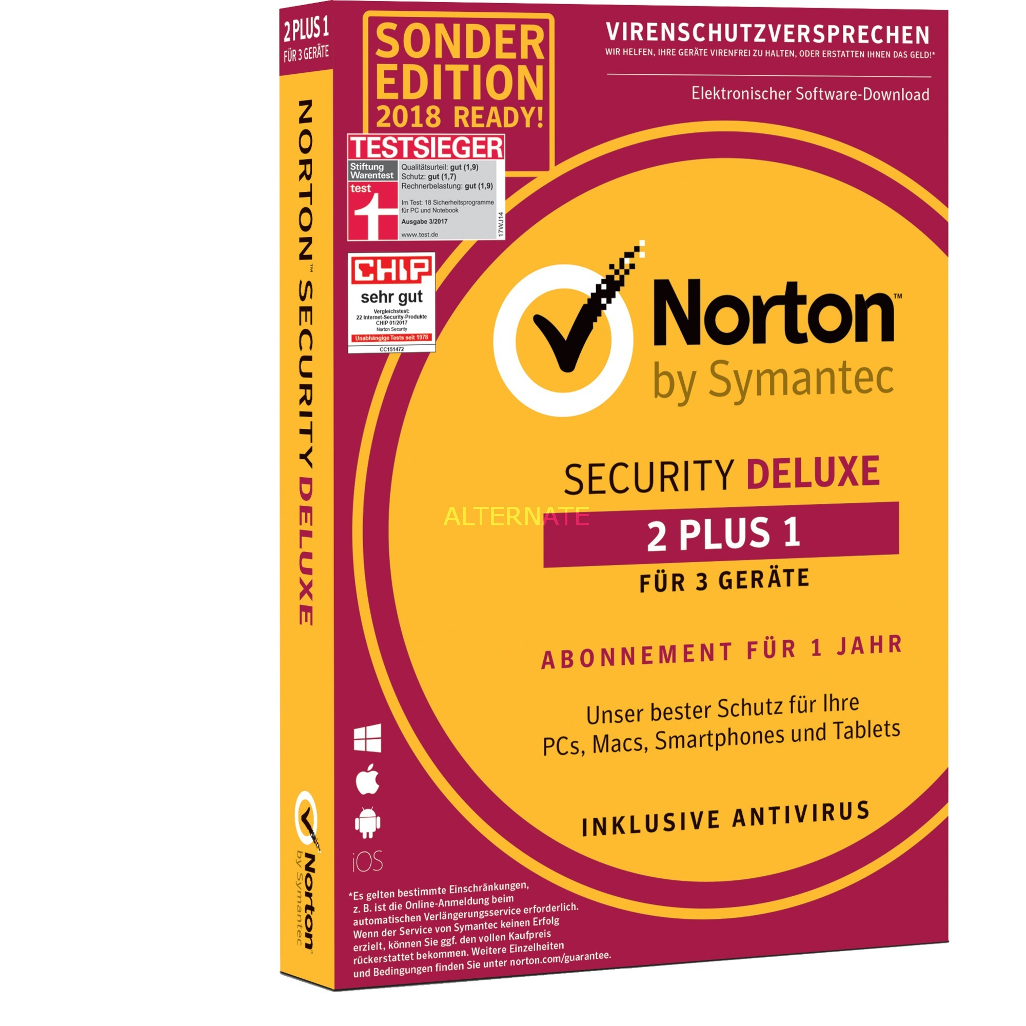 Security Deluxe 2+1 Device, Software